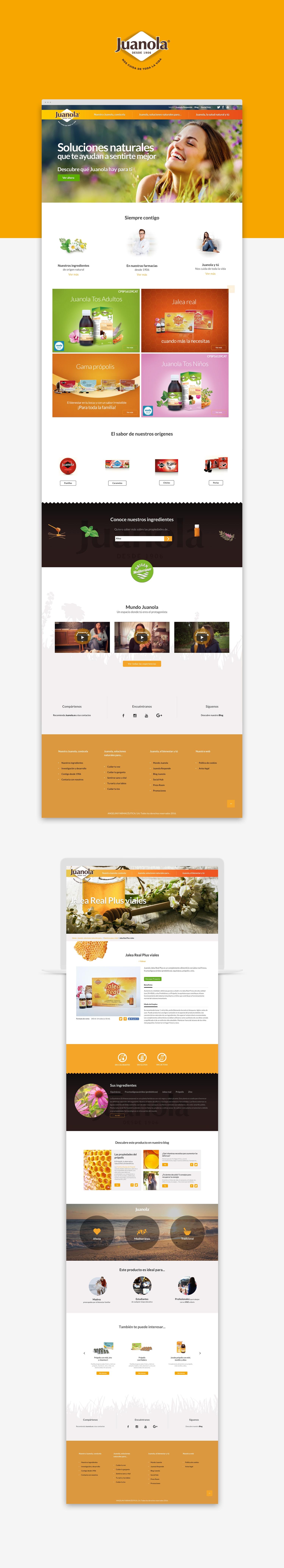 Diseñador web responsive · Juanola · Samuel Matito · diseñador freelance